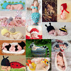 Baby Infant Newborn Animal Knit Costume Photography Prop Crochet Beanie Hat HG