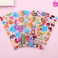 DIY Kawaii 3D Bubble Stickers Kawaii Cartoon Animal Kids Sticker Gift Best U2M7