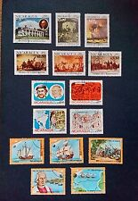 Nicaragua stamps-1982,'83 discovery of America, George Washington, Pope