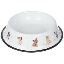 Wrendale Designs Large Dog Bowl - 29cm Steel Bowl – Illustrations by Hannah Dale