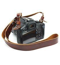 CEARI Premium Camera Leather Shoulder Neck Strap Belt for Canon Nikon Pentax ...