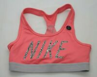 Nike Pro Classic Medium Support Bra Blue Youth Size XS-L New with Tag 819727 447