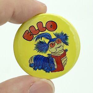 Ello Worm Caterpillar The Labyrinth Film 38mm Button Pin Badge