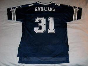 Roy Williams 31 Dallas Cowboys Reebok NFL Blue Jersey Boy's XL 18-20 used