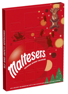 Maltesers Advent Calendar Merryteaser Chocolate Treat on Xmas Eve Christmas Gift