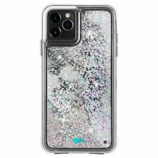 iPhone 11 Pro Max Case AntiScratch Gift Girls Women Waterfall Rainbow Silver