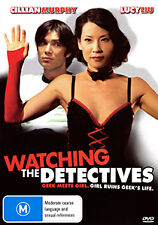 Lucy Liu Cillian Murphy WATCHING THE DETECTIVES - QUIRKY FUN ROMANTIC COMEDY DVD