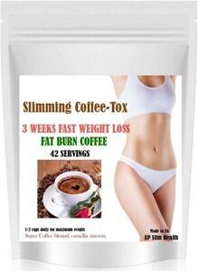 3 WEEK WEIGHT LOSS DETOX EXTREME KETO DIET SLIMMING BURN FAT COFFEE-TOX DRINK
