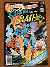 DC Comics Presents #1 (1977) 1st Print 4TH SUPERMAN FLASH RACE BRONZE VF/NM KEY!