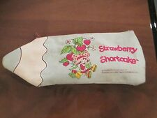 Vintage Strawberry Shortcake Pen & Pencil Holder