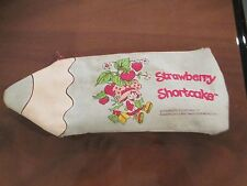 Vintage Strawberry Shortcake Pen & Pencil Case Holder
