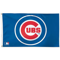 Chicago Cubs Bullseye Large Flag