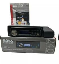 Boss 637Ua In-Dash Cd/Mp3/Usb/Am/Fm Car Stereo Receiver 240 Watts 4 Channel