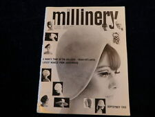 Millinery and Boutique British Milliners Magazine September 1966 HAT Styles  A28