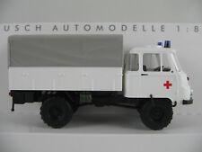 "Busch 50232 Robur LO 2002 A Pritsche/Plane (1973) ""Rotes Kreuz"" 1:87/H0 NEU/OVP"