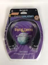 Vintage Sony Walkman SRF-HM22 AM/FM Radio Headphones 1993 New Sealed Nostalgic