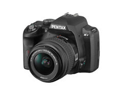 Pentax K K-r 12.4MP Digitalkamera - Schwarz (Kit mit 18-55mm Objektiv)