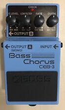 Boss CEB-3 Bass Chorus pedal. New (demo) - Never used