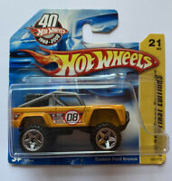 2008 Hotwheels Custom Ford Bronco Pick Up Truck Very Rare! Mint!