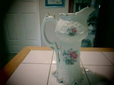 Rose floral pitcher. Called Formalities by Baum Bros