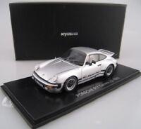 Porsche 911 Carrera 2.7  1975  in silber  Kyosho  PC-Box  1:43  OVP  NEU