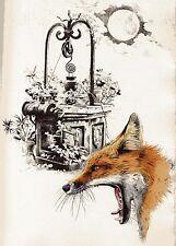 DE LA FONTAINE Jean. Fables Choisies. 12 litografie originali di Titti Garelli