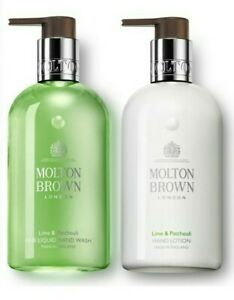 Molton Brown Lime & Patchouli Hand Wash & Lotion Set 100ml TRAVEL SIZE