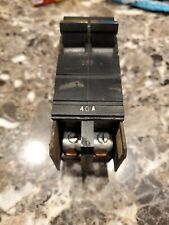 Used XO BREAKER 40 Amp Double Pole Square D & Cutler Hammer