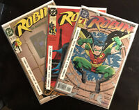 Robin #1 3x BOOK LOT (1993, DC) NM 🔑🔥 FREE SHIPPING Great Collector's Items