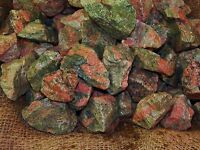 2000 Carat Lots of Unakite Rough - Plus a FREE Faceted Gemstone