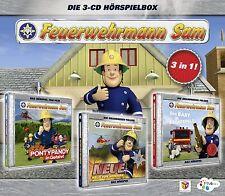 Feuerwehrmann Sam Die 3-CD Hörspielbox 1 (3 CD | Hörspiel)