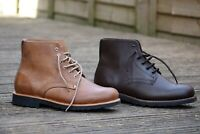 Hiking Leather boots recycled tyre soles - Original GoodYear Welt Construction
