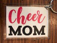 Cheerleading Keychain with Cheer MOM 2
