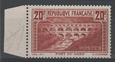 """FRANCE STAMP TIMBRE 262A """" PONT GARD 20F CHAUDRON TYPE I"""" NEUF xx TTB SIGNE M847"""