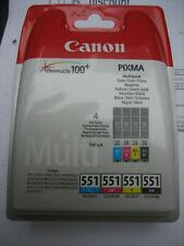 CANON CLI-551Z Multipack CLI-551 C Y M Bk Pixma ip7250 MG 5450  MX-925