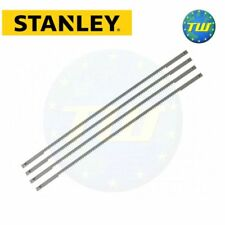 Stanley 4pc Replacement Coping Saw Blades 165mm 14tpi 0-15-061 STA015061