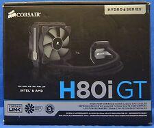 Corsair Hydro Series H80i GT Performance Liquid 120mm CPU Cooler CW-9060017-WW