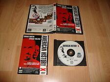 AMERICAN HISTORY X PELICULA EN DVD DEL DIRECTOR TONY KAYE CON EDWARD NORTON