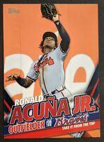 Ronald Acuna Jr. 2020 Topps Update Series #TRA-4 Highlights Set