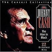 The Man In Black The Concert Collection, Johnny Cash, Very Good CD
