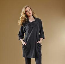 Insight New York - VSJ13172A - Charcoal Ponte knit Jacket size 16