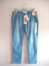 Denim & Co Size 16 Regular Denim BLue Stretch Cotton Blend Jegging Jeans NEW
