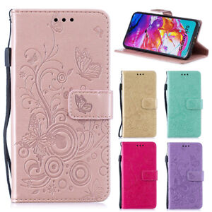 For Samsung Galaxy A21S A31 A40 A51 A71 Pattern Flip Leather Wallet Case Cover