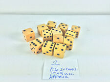 100 + Dice Some Bakelite Different Sizes Colors See My Other Dice Gambling Dice