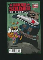 Winter Soldier: The Bitter March #1, Chris Eliopoulos Variant Cover
