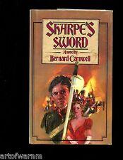 br - SHARPE'S SWORD  - Bernard Cornwell,  Signed ED. 1st  US  HB w/dj