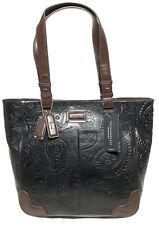 NWT Tignanello Western Tote, Black/Dark Brown, T58317, MSRP: $189.00