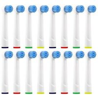 16 x Replacement Toothbrush Brush Heads Fit For ORAL-B Sensitive Clean Gum Care