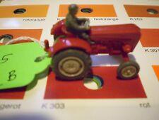 #05 Wiking Porsche Diesel Tractor 386/2 B red Schlepper