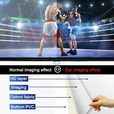 """120"""" Manual Projector Screen Pull Down Home Theater office Wall ceiling 1080p 4k"""